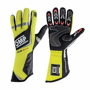 OMP ONE EVO Racing Gloves | FIA 8856-2000 Holomogation | IB/759