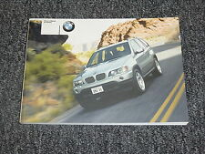 2003 BMW X5 3.0i 4.4i 4.6is Owner's Owner Manual User Guide 3.0L 4.4L 4.6L