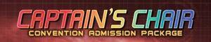 Star Trek Las Vegas Convention 2021, Single Ticket, Captain's Chair, all 5 days!