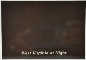 Beautiful West Virginia At Night Unused And Unposted Postcard