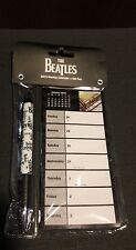 The Beatles 2015 Weekly Calendar and Gel Pen New Collectors Magnetic music