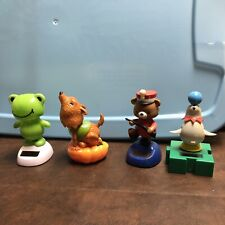 Assorted Lot of 4 Solar Powered Dancing Toys