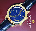 Patek Philippe Celestial Complication 18k Yellow Gold Watch Box/Papers 5102J