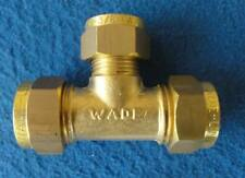 """Brass Comp Joint Wade Universal Unequal T 1/2 - 1/2"""" +3/8"""""""""""