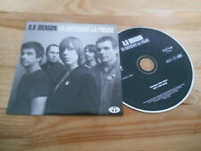 CD Indie A.S. Dragon - Va Chercher La Police (12 Song) Promo TRICATEL NAIVE cb
