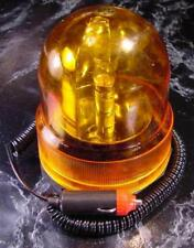 12 Volt Revolving Amber Caution Light new Magnetic base safety car truck
