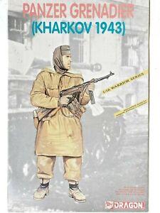 DRAGON 1:16 Scale Model Kit Panzer Grenadier Kharkov 1943 Warrior Series 53 Part