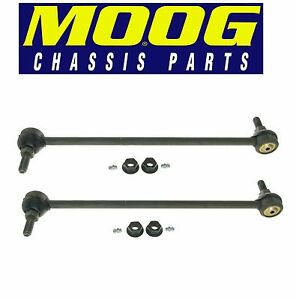 Pair Set of 2 Front Sway Bar End Links Moog for Buick Chevrolet GMC Saturn