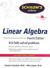 Schaum's Outline of Linear Algebra Fourth Edition (Schaum's Outline Series) by L
