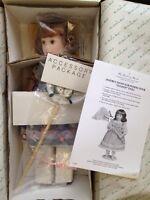 "Danbury Mint Porcelain Doll Allison Artist Elke Hutchens Girl Butterfly Net 18"""