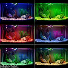 Colour Changing LED Aquarium Strip Light Set RGB Submersible Pond Fish Tank UK