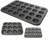 Non Stick Carbon Steel Baking Oven Tray Cake Muffin Tin Mince Quiche Tin