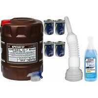 20L PEMCO DIESEL G-7 UHPD 10W-40 Blue API CJ-4 Motoröl synthetisch Oil Hahn