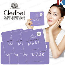 CLEDBEL Special Placenta Facial Face Mask Sheet 25g * 5pcs Anti-Winkl mask sheet