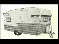 SHASTA RV TRAILER OPERATIONS & APPLIANCE MANUALs for Camper Service & Repair