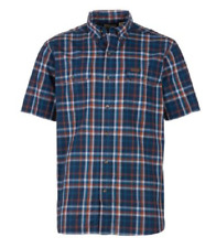 1c550b0e004 NEW RedHead Workwear Short Sleeve Durable Plaid Shirt Size Medium FREE  Shipping