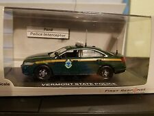 First Response Police 1:43 Vermont State Police Ford Police Interceptor Sedan