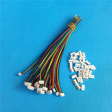 20 Sets X  Micro JST 1.25 5-Pin Male&Female Connector plug with Wires Cables