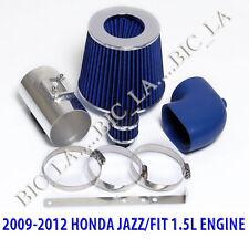 BLUE 2009 2010 2011 2012 HONDA JAZZ FIT LX DX 1.5 1.5L AIR INTAKE KIT SYSTEMS