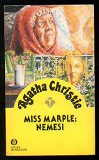 CHRISTIE AGATHA MISS MARPLE: NEMESI OSCAR MONDADORI 1807 GIALLI 132 1984