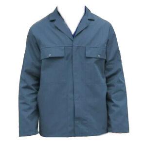 DRIVERS JACKET / WORK JACKET  - BLUE GREY GRAY BRITISH WORKWEAR BARGAIN  - JK9