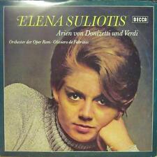 Elena Suliotis(Vinyl LP)Arien Von Donizetti Und Verdi-Decca-SXL 21161-G-VG/Ex