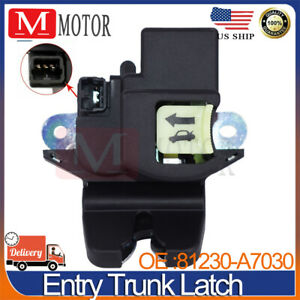 New For KIA Forte 2013-2018 Trunk-Lock or Actuator Latch Release 81230A7030