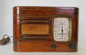 Antique 1937 Packard Bell Model 5T Table Radio Parts/Restoration