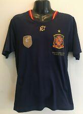 España El 10 Camiseta De Fútbol Jersey 2010 adulto medio Adidas final de la Copa del Mundo
