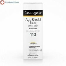 Neutrogena Age Shield Face Oil-Free Lotion Sunscreen Broad Spectrum Spf 110, 3 F