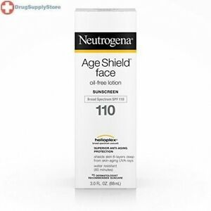 Neutrogena Age Shield Face Oil-Free Lotion Sunscreen Broad Spectrum Spf 110, 3 F