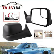 Pair for 98-01 Dodge RAM 1500 98-02 RAM 2500 3500 Tow Mirrors Power Heated