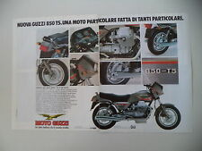 advertising Pubblicità 1984 MOTO GUZZI 850 T5