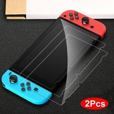 2Pcs For Nintendo Switch Premium Clear 9H+ Tempered Glass Screen Protector Film