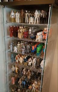 Custom Acrylic Shelf Shelves & D-Clamps Compatible w Detolf Cabinet (DSA/IK)