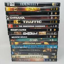 15 DVD Movie Lot - Ocean's Eleven, Kingdom of Heaven, Gladiator, & More!