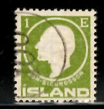 Iceland Number cancel #100 used in Ospakseyri