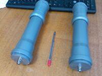 Mini-Whip HF, VLF active antenna, 10kHz to 30MHz