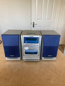 Aiwa Micro Hifi System - LCX-137 - CD/Tape/Radio - Mains or 12 Volt - Tested