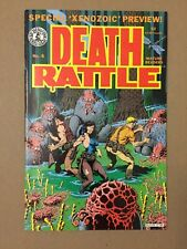 DEATH RATTLE V.2 #8 FIRST XENOZOIC TALES APPEARANCE VF 1ST PRINTING MARK SCHULTZ