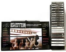 LED ZEPPELIN - lot of 19 NEW/SEALED cassettes custom box set  (pink floyd stones
