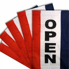 Open Vertical 3' x 5' Advertising Display 5 Flag Lot