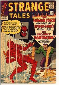 Strange Tales #115 VG+ Marvel (1963) -Origin Of Doctor Strange -Silver Age