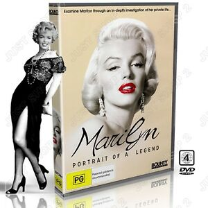 Marilyn Monroe Documentary DVD : Portrait Of A Legend : Brand New (Rare)