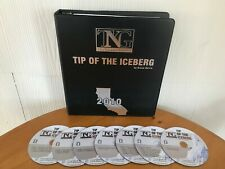 TIP OF THE ICEBERG REAL ESTATE COURSE BY BRUCE NORRIS - MANUAL & 7 CD'S!  RARE!
