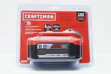 Craftsman 20V 6.0Ah Lithium Ion Battery Pack (CMCB206) - NEW! SEALED!