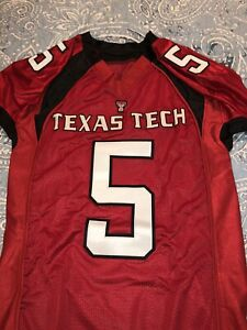 Texas Tech Red Raiders Patrick Mahomes Under Armor Jersey Size Large Long Chiefs
