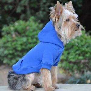 Doggie Design Blue Flex-Fit Dog Hoodie  XS-4XL