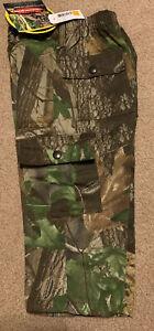 NWT Infant/Toddler Realtree Hardwoods Green HD 6 Pocket Camo Pants 2T