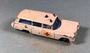 Vintage Matchbox Lesney No. 54 S & S Cadillac Ambulance